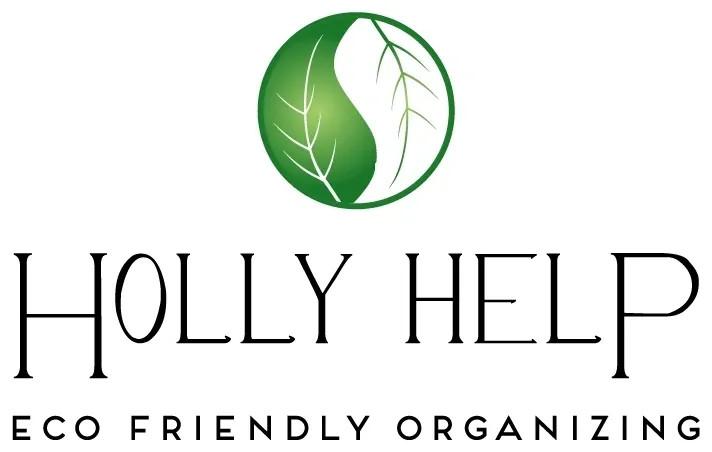 holy help logo with eco friendly organizing